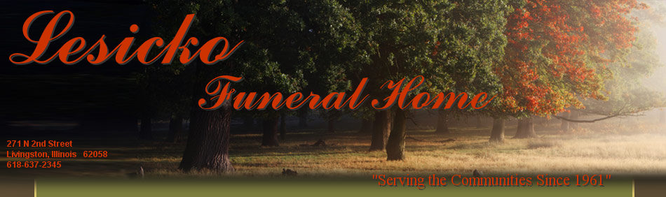 Lesicko Funeral Home